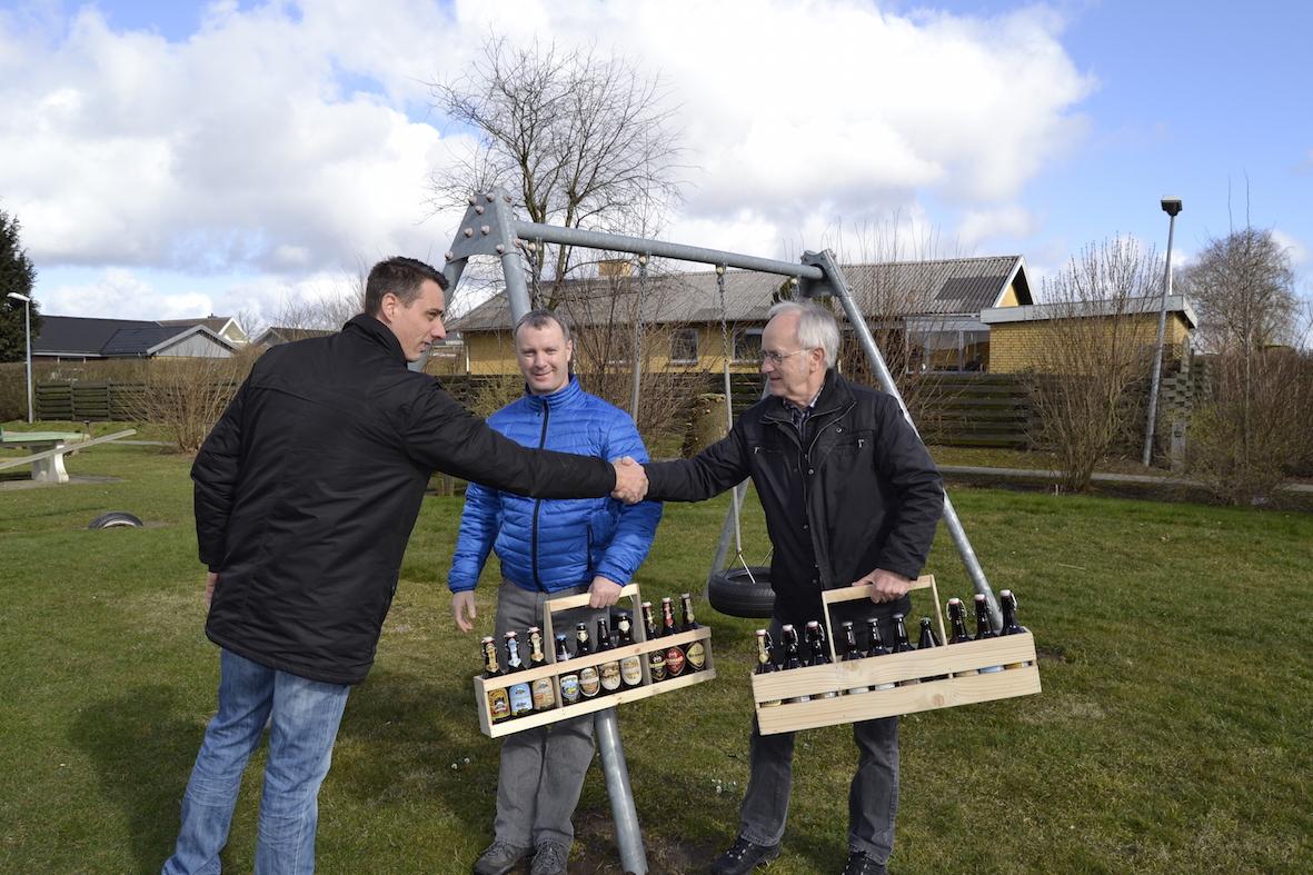 Allan, Arne og Niels